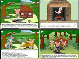 pigs story board pictures cal22 teaching