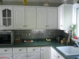 Tin Tiles For Backsplash In Kitchen Faux Tin Tile Backsplash Tin Tile For Kitchen With Kitchen Colors