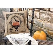 heritage lace vintage halloween throw pillow u0026 reviews wayfair