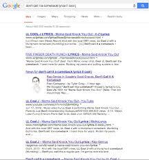 rap genius in google s good graces don t call it a comeback