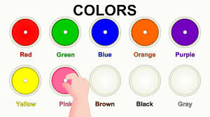 Orange Colors Names Colors For Children And Kids Kids Learning Videos Let U0027s Learn