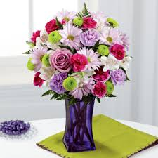 Flower Delivery Syracuse Ny - marge polito florist the ftd purple pop bouquet syracuse ny
