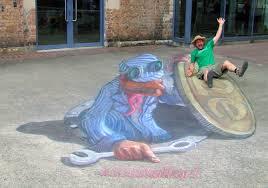 3d Hole Murals 3d Cake Image 3d Chalk Art 3d Street Painting Zest Events