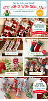 christmas personalized christmas stockings for kids embroidered