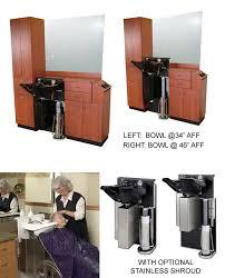 Shampoo Cabinet American Beauty Equipment Adjust A Sink All Purpose Shampoo Wet