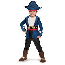 toddler boys captain jake costume jake and the never land