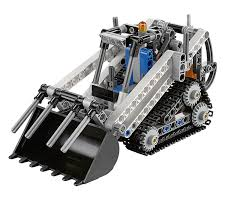 lego technic amazon com lego technic 42032 compact tracked loader toys
