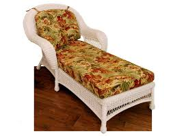 Wicker Chaise Lounge Wicker Domain Chaise Lounge W Cushions