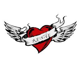 40 best broken heart with wings tattoo images on pinterest angel