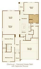 highland homes floor plans new home floorplan glenhurst in rosenberg texas 77469