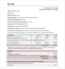 slip template u2013 13 free word excel pdf documents download