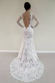 Long Sleeve Lace Wedding Dress Open Back 25 Best Champagne Lace Wedding Dress Ideas On Pinterest
