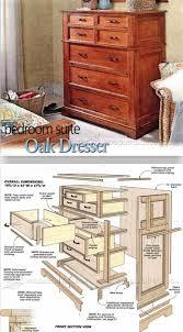 oak dresser plans furniture plans and projects woodarchivist