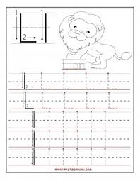 printable letter l tracing worksheets for preschool free writing