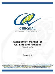 ceequal v5 assessment manual for uk ireland projects final 24 08
