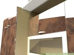 How To Update Your Kitchen Cabinets by 4 Ways To Update Your Kitchen On A Budget Wikihow