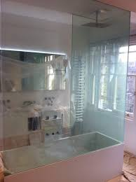Smart Glass Shower Door Bathrooms Showers Intelligent Glass