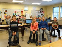 wobble chairs a hit at pine tree elementary news