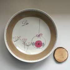 porcelaine peinte main perle de kaolin peinture sur porcelaine