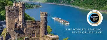 Viking River Cruises   World     s Leading River Cruise Company Viking Longship sailing the Rhine