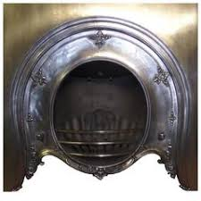Cast Iron Fireplace Insert by Polished Cast And Wrought Iron Victorian Fireplace Steampunk Look