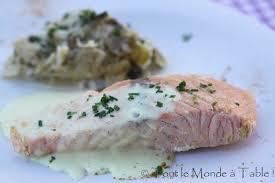 cuisiner saumon congelé saumon poché au lait et au curry sauce curry et sa fondue de