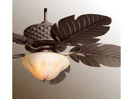Indoor Tropical Ceiling Fans With Lights Vanity Epic Leaf Ceiling Fans With Light 37 On Deco Fan In