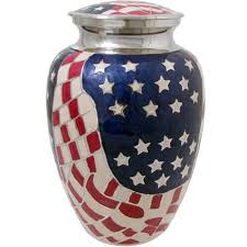 creamation urns wholesale cremation urns american flag brass