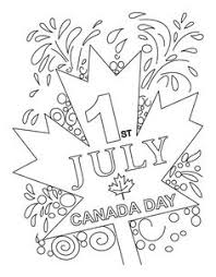 canada flag coloring page free canada day colouring pages canada day pinterest free