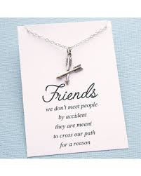 best friends friendship necklace images Summer sale gift for bestfriend crossed arrow necklace