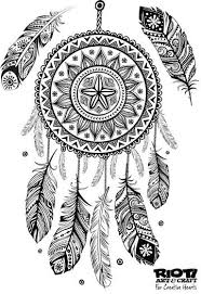 138 dreamcatcher coloring pages adults images