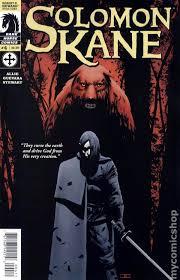 solomon kane 2008 dark horse comic books