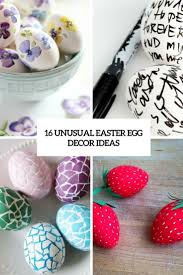 16 unusual easter egg décor ideas shelterness