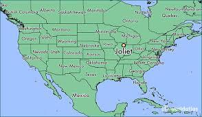 map usa illinois where is joliet il joliet illinois map worldatlas