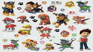 roommates rmk2640scs paw patrol peel and stick wall decals youtube
