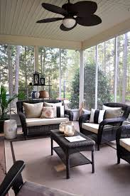 Screened Porch Makeover by The Collected Interior Diy Solid Stain Deck Makeover