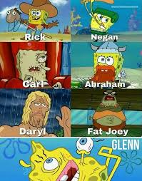 Spongebob Internet Memes - that carl one sucks but lovf the glenn one no offense glenn rip
