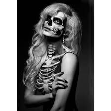 skeleton makeup popsugar beauty