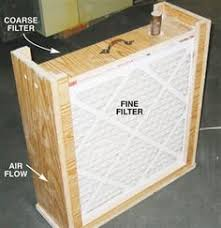 box fan filter woodworking woodworking tip box fan filter i made a cheap air cleaner for
