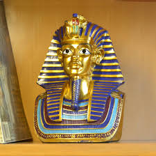 Home Temple Decoration by Mask Gel Picture More Detailed Picture About Resin Egyptian Gold