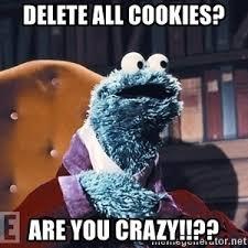 Monster Meme - cookie monster meme delete cookies mne vse pohuj