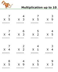 single digit multiplication worksheets printable free worksheets