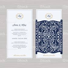 Wedding Invitation Greeting Cards Wedding Invitation Or Greeting Card With Vintage Ornament Paper