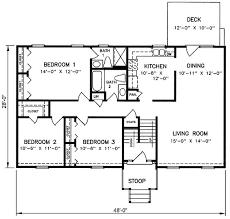 1970s house plans 1970s split level house plans split level house plan 26040sd