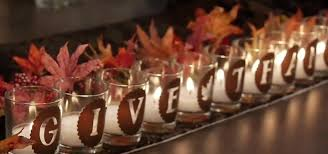 how to make a give thanks votive array for thanksgiving with