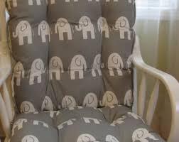 grey rocker cushion etsy