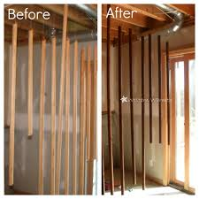 western warmth staining closet rods