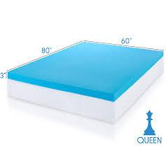 Comforpedic Gel Memory Foam Mattress Topper Bedroom Gel Mattress Topper With Adjustable Costco Beds Review