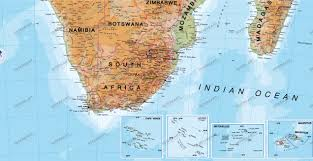 Physical Map Of South Africa by Africa Map Physically Africa Africa Wall Maps