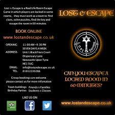 lost u0026 escape lostandescape twitter